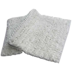 Paper Shag Rug in Polyester Cotton - White