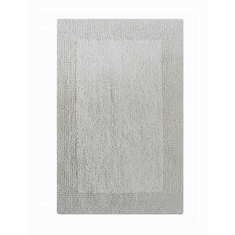 Soft Reversible Bath Rug - White