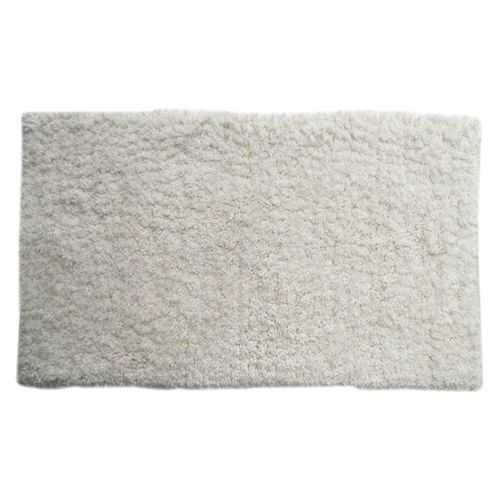 Micropolyester Shag Rug - White