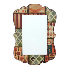 "27"" X 19"" Multi-Color Vintage Decorative Dressing Mirror"