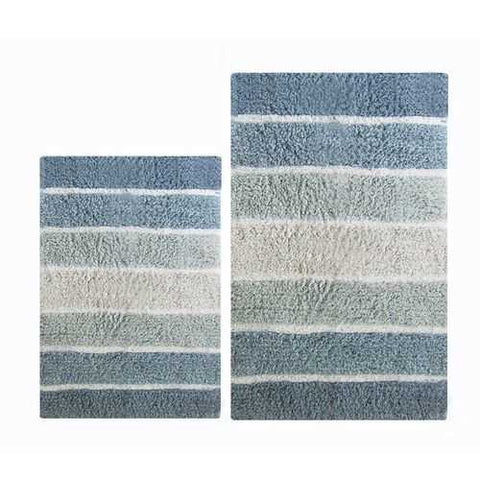 Mixed 2-Piece Bath Mat Set