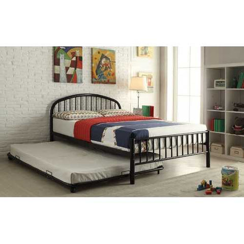 Twin Bed, Black
