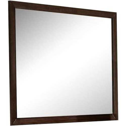 Casual Mirror In Espresso Finish
