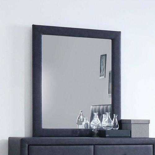 Mirror, 2-Tone Gray - Dark Gray , Wood, Lvl,  2-Tone Gray