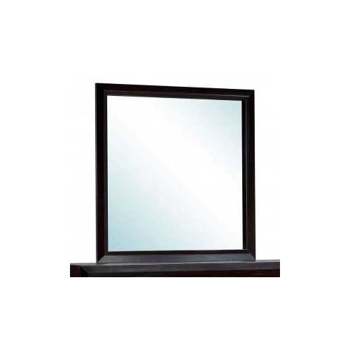 Transitional Style Dark Espresso Mirror