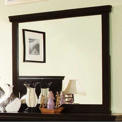 Pebble Contemporary Espresso Mirror