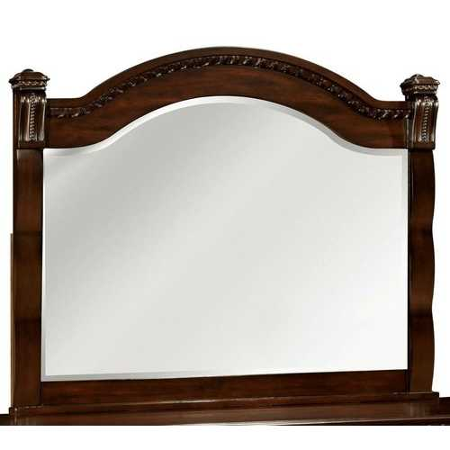 Transitional Style Mirror , Cherry