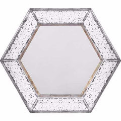 Intriguing Hexagonal Mirror