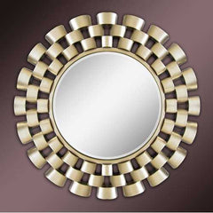 Impressive Accent Mirror, Gold