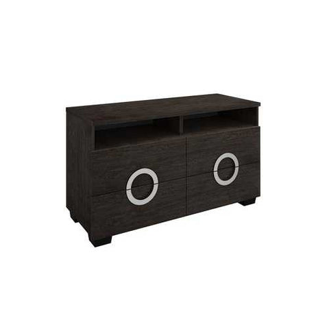 "27"" Refined Grey High Gloss TV Entertainment Unit"