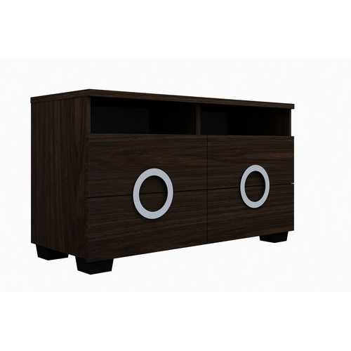 "27"" Refined Wenge Gloss TV Entertainment Unit"