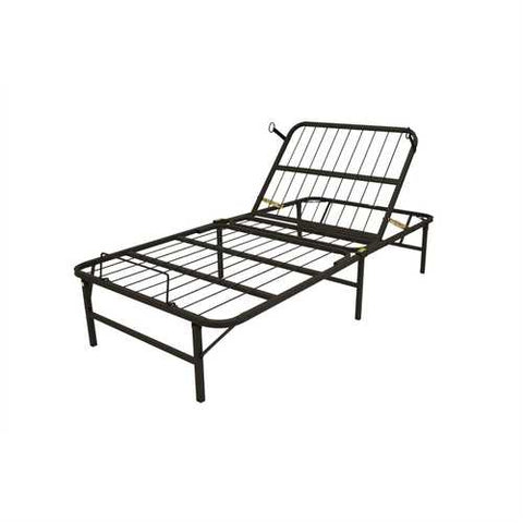 Twin XL Manually Adjustable Bed Frame - Head Adjust Only