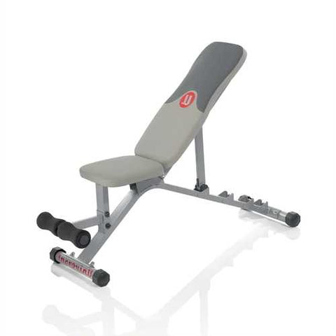 Adjustable 5-Position Fitness Exercise Weight Bench - Made in USA