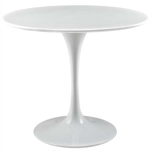 Modern Classic 36-inch Dining Table in White