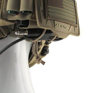 Bridge Tactical Helmet Accessory Platform