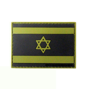 Israeli Flag Patch OD Green, ,  - Agilite