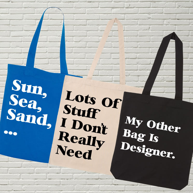 Introducing Our Slogan Tote Bags At Jesmundo