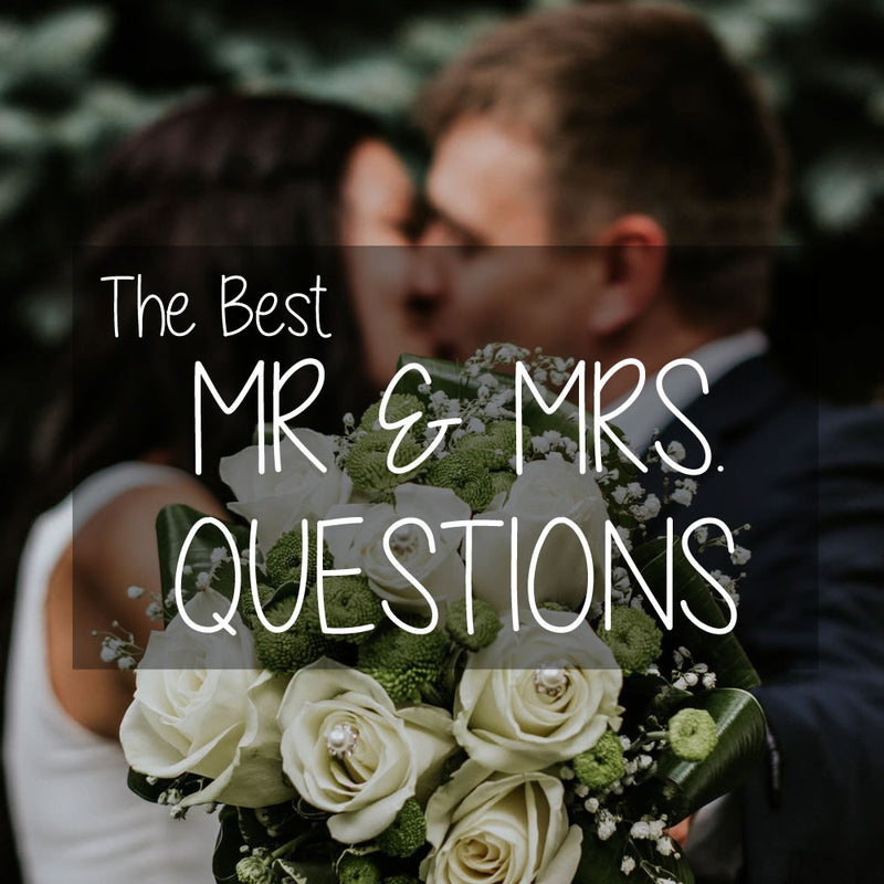 Mr And Mrs Questions - Hen Party Games For Your Hen Night