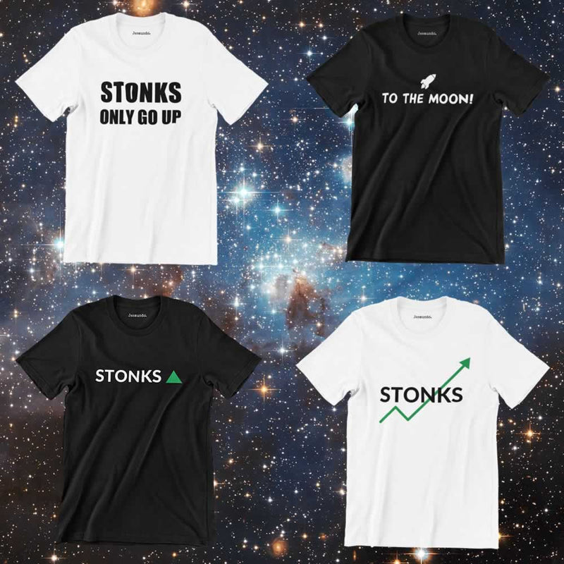 The Best Stonks Meme T Shirts Have Arrived!