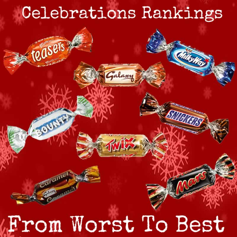 Celebrations Christmas Chocolate Tub Ranked: The Best And Worst Chocolates!