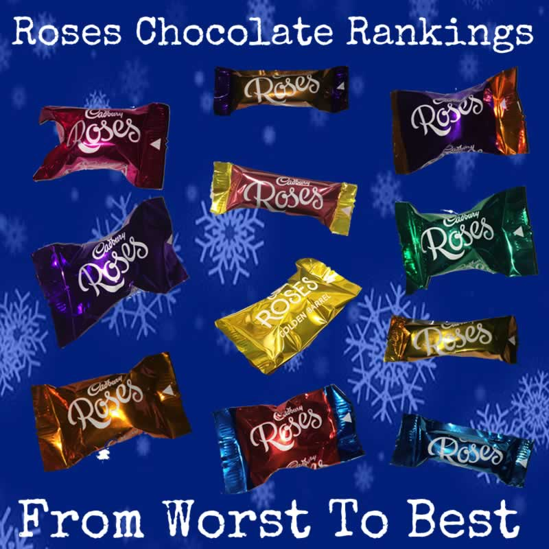 Roses Chocolates Ranked: From Worst To Best Christmas Chocolates
