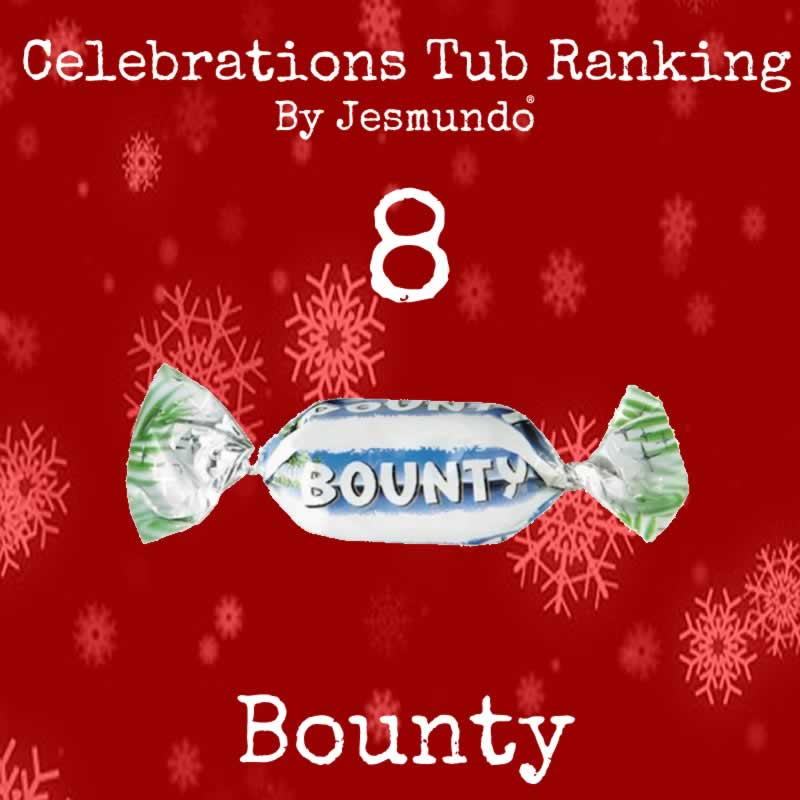 Bounty Ranked The Worst Chocolate In Celebrations Tub
