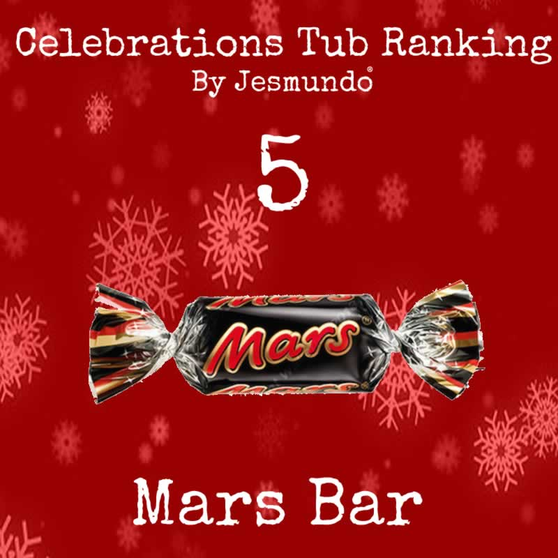 Mars Bar Ranked 5th Best Chocolate In Celebrations