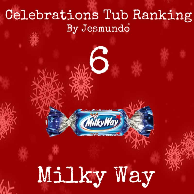 Milky Way Ranked 6th Best Chocolate In Celebrations