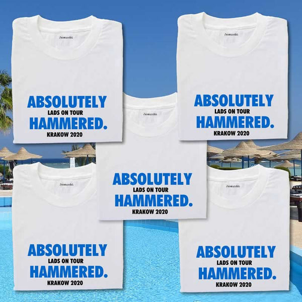 Stag Weekend T Shirts For Going Abroad