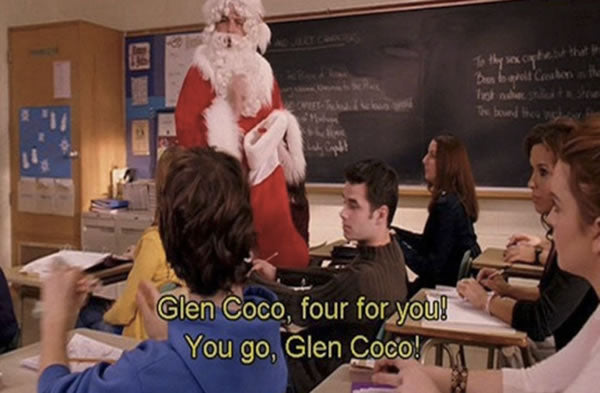 Mean Girls Christmas Quote