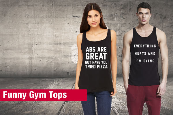 Funny Gym Tops