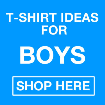 Fun T-shirt Ideas For Boys