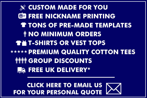 Get A Personal Quote For Lads Holiday T Shirts Printed