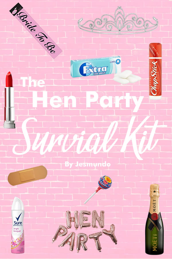 Hen Party Survival Kit - 30 Essential Items