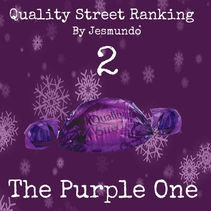 The Purple One Ranks 2nd Best Quality Street