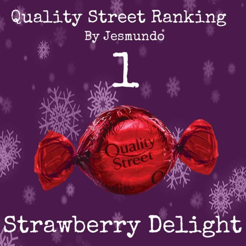 Strawberry Delight Ranked Best Quality Street Sweet