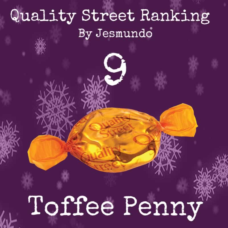 Toffee Penny Ranks 9th Place