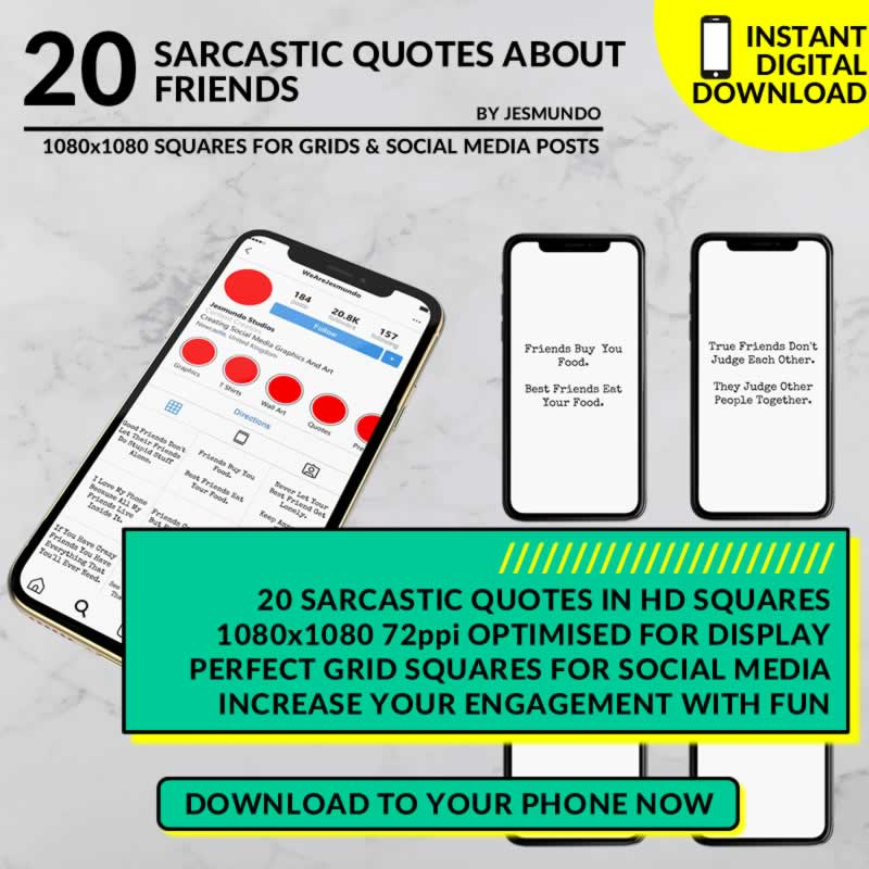 Sarcastic Quotes About Friends To Download