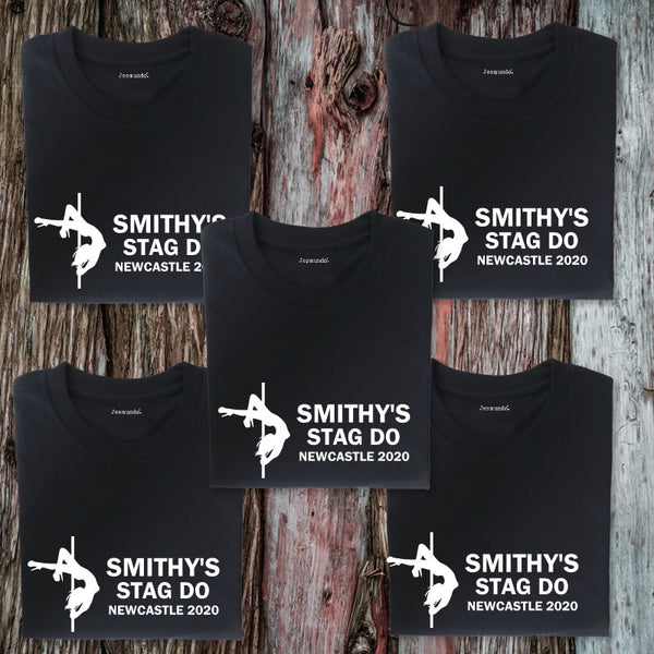 Stag Do T Shirts For Over 50s