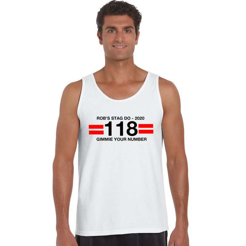 118 Funny Stag party Vests