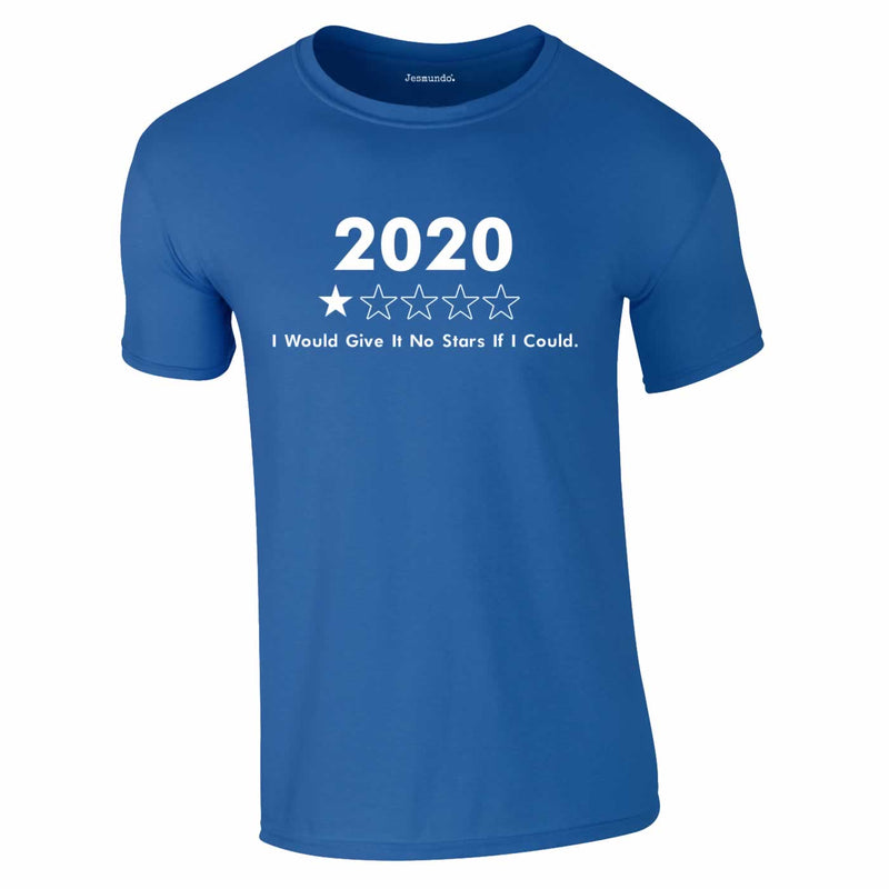 2020 Review 1 Star T-Shirt