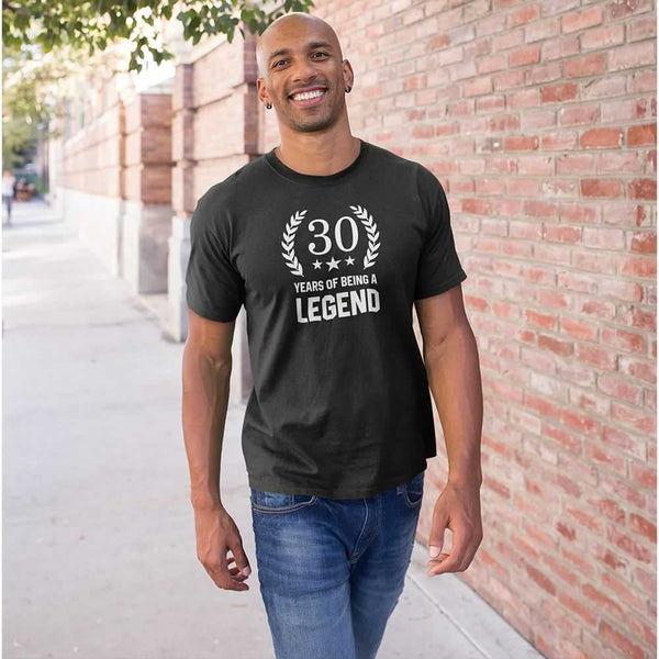Men's 30 Years Of Being A Legend T-Shirt