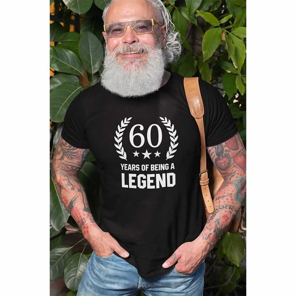 Men's 60 Years Of Being A Legend T-Shirt