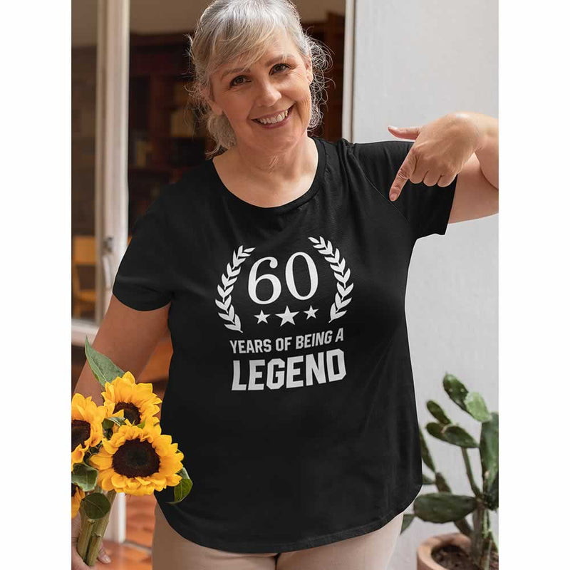 Women's 60 Years Of Being A Legend T-Shirt