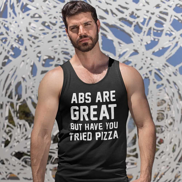 Abs Are Great But Have You Tried Pizza Men's Vest