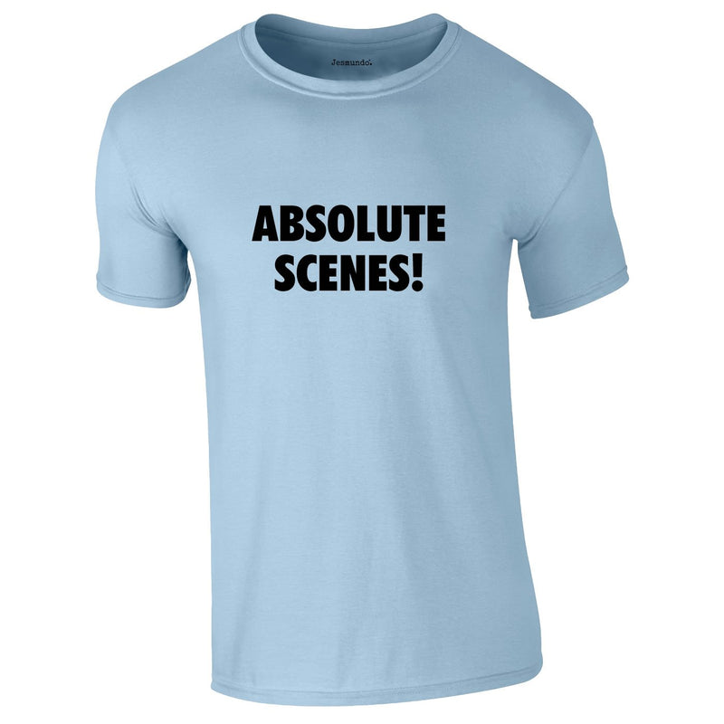 Absolute Scenes Tee In Sky