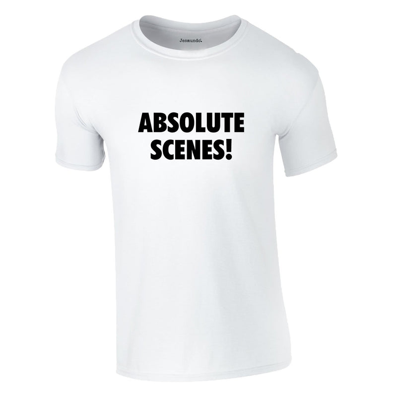Absolute Scenes Tee In White