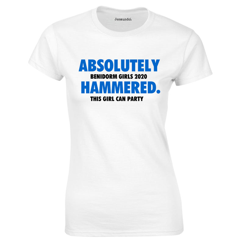 Absolutely Hammered Personalised Tops