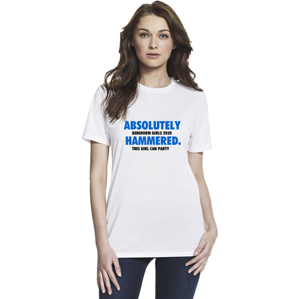 Absolutely Hammered Girls Holiday T Shirts