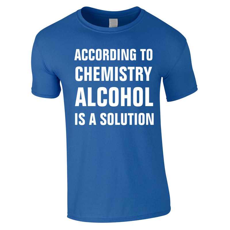 According To Chemistry Alcohol Is A Solution Tee In Royal